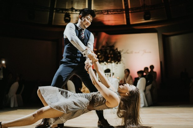 choreographed first dance wedding