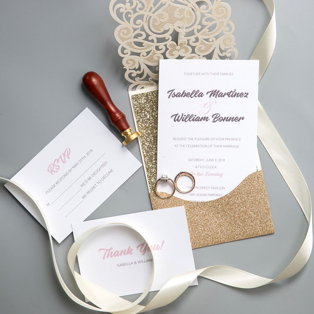 Glitter is still a hot commodity applied to weddings and can stand the test of time for many running years to come. Just choose this