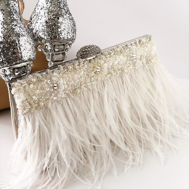 This week we are all about gorgeous details and one being feathers!!!