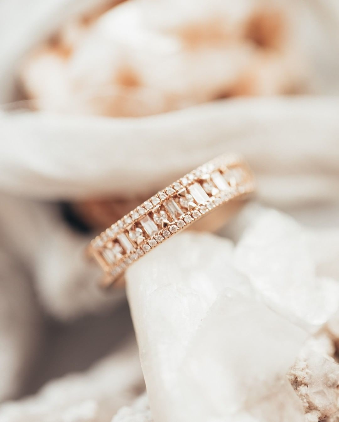 All about the baguette bands, baby! #sarahojewelry