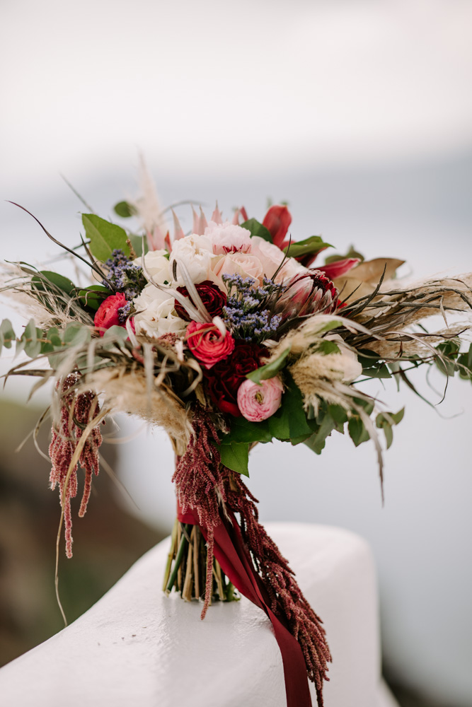 Bridal Bouquet! Red & Pink Roses!