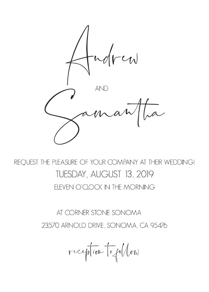 Print: Signature Wedding Suite