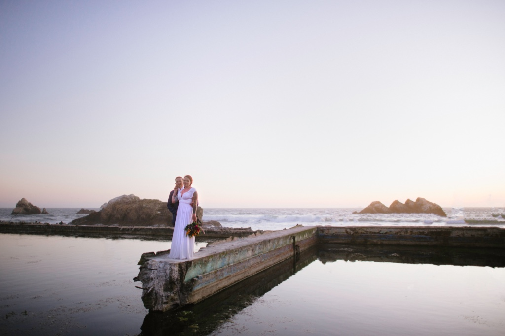 San Francisco Elopement at the Sutro Baths