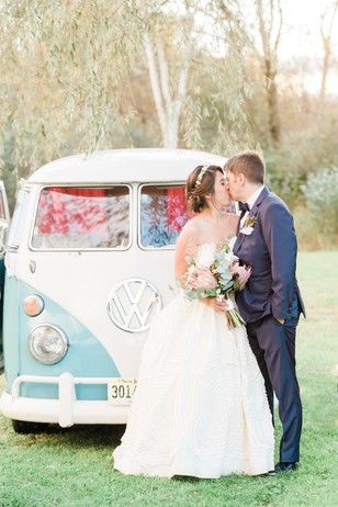 VW photobooth wedding