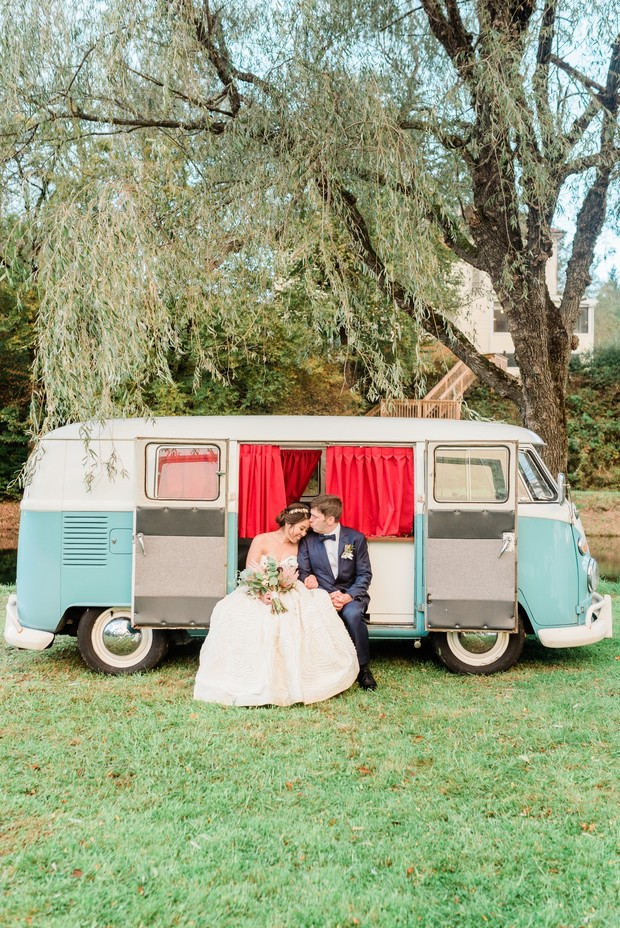 cute wedding photo booth