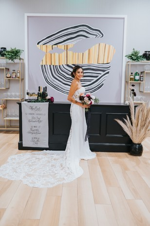 chic bridal style