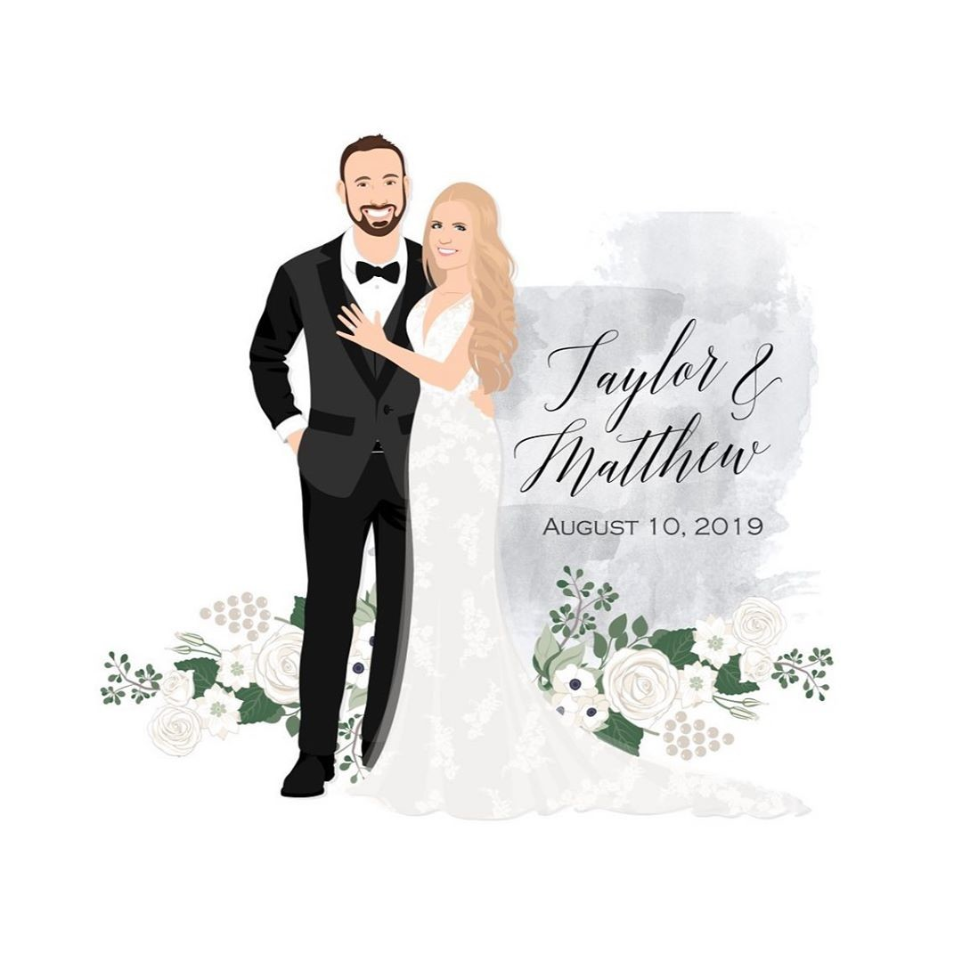 Yesterday was the big day for Taylor and Matthew! If these two looked anything like their guestbook, they surely were stunning all
