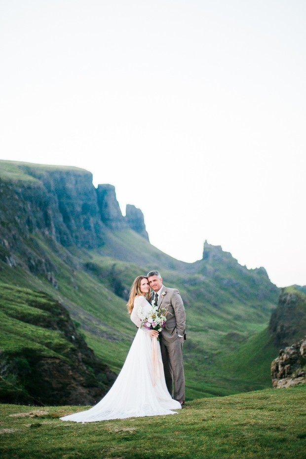 Romantic elopement in Scotland