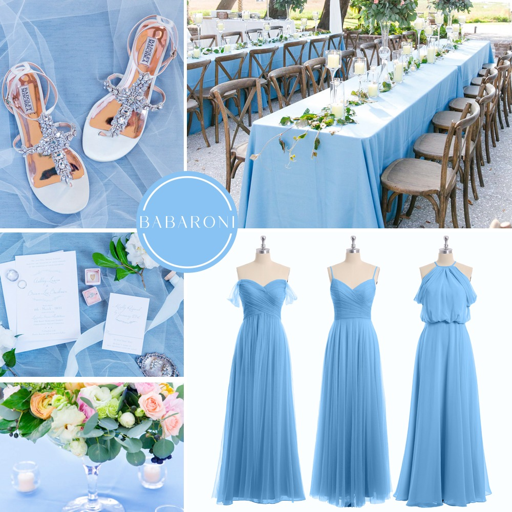 Swooning over this stunning bridesmaid dresses, attractive shoes, and beautiful venue views!