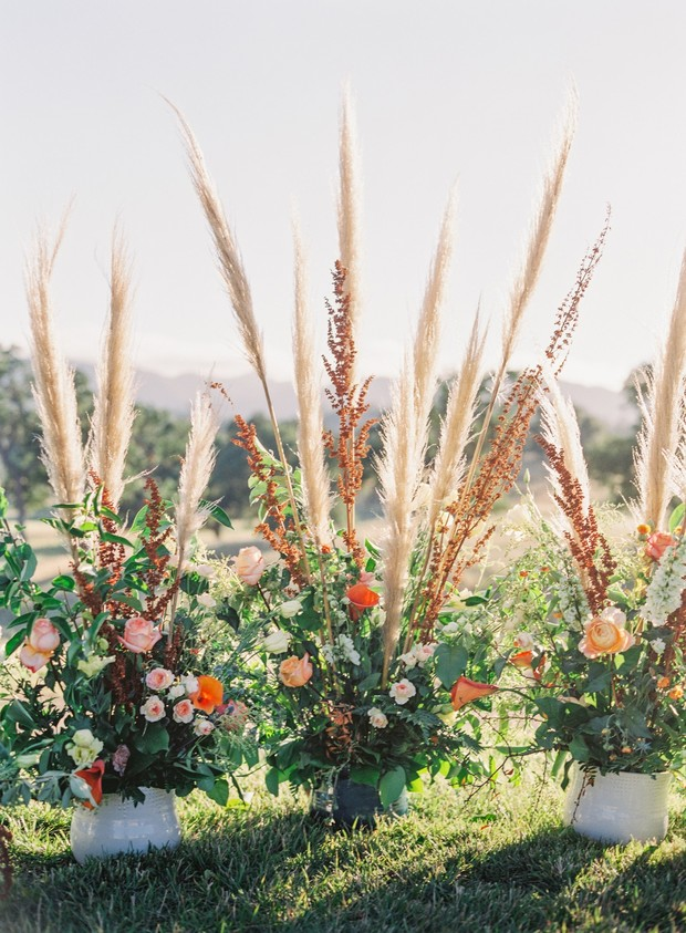 floral wedding backdrop
