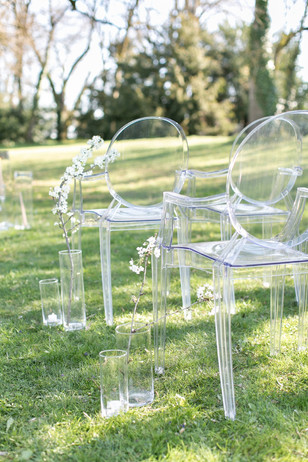 ghost wedding chairs