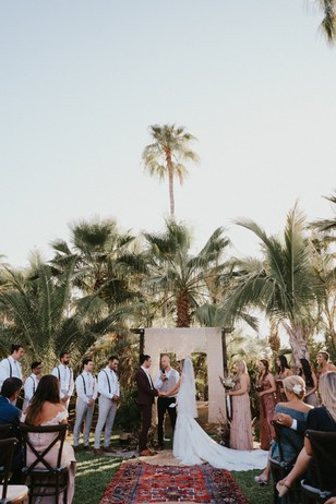 wedding ceremony in Mexico