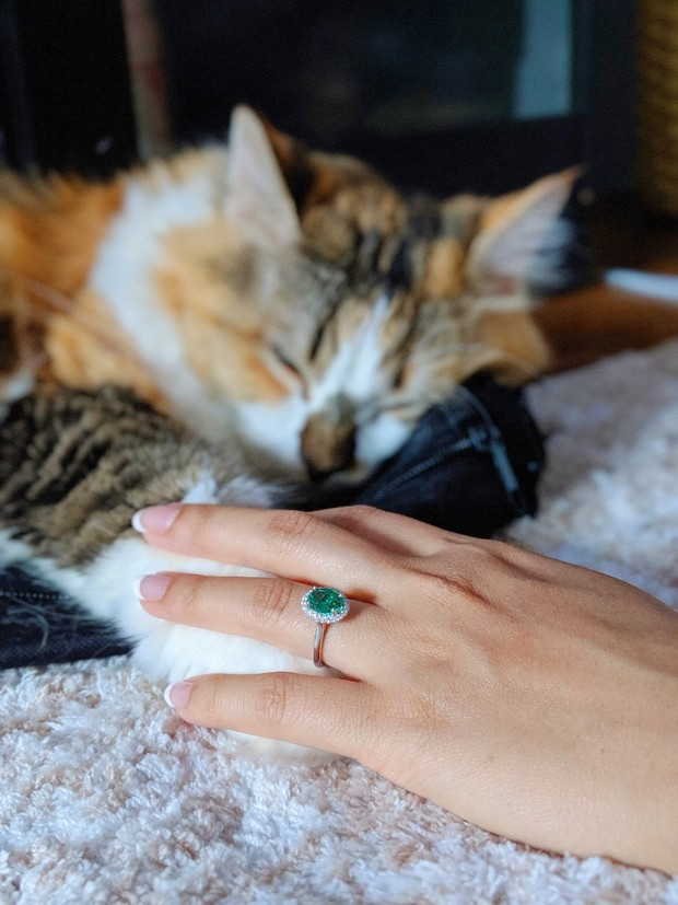 engaged bride to be
