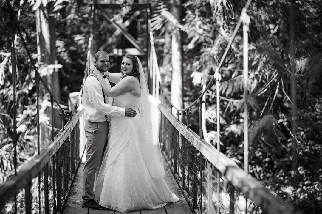 Austynn & Kayla's wedding was a magical afternoon in the woods and we were honored to capture it! .