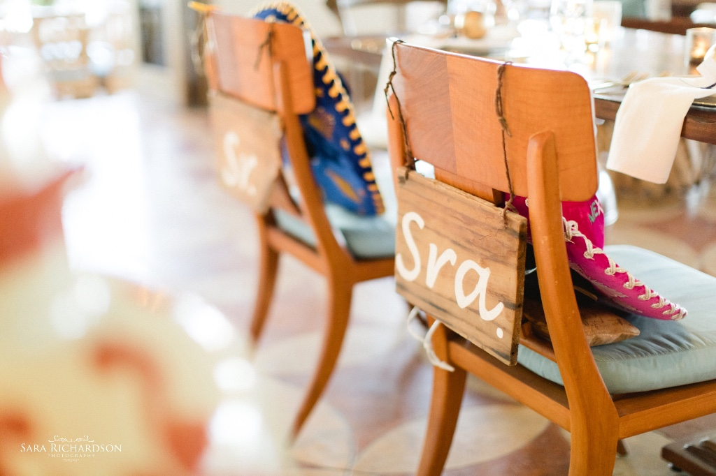 Luxury Cabo Wedding full of colors and details !