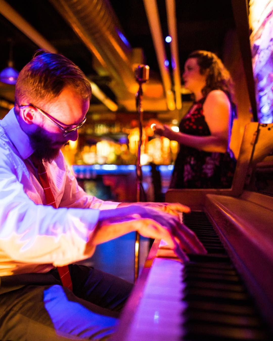 Sweetie belts the Blues and Chase will be tickling the ivory tonight! And if we're lucky, we will have yet another piano virtuoso