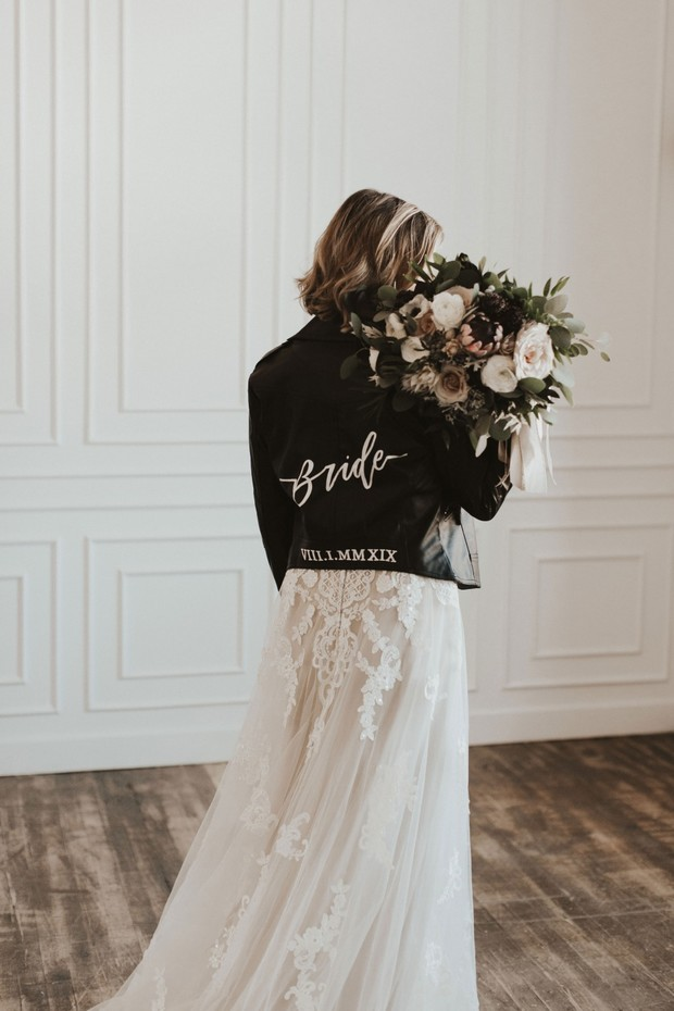 bride wedding jacket
