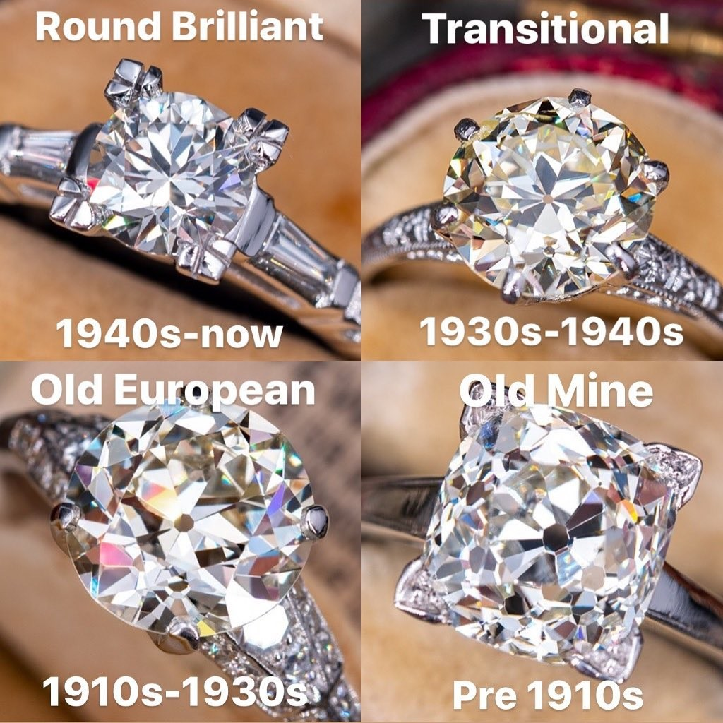 Diamond cuts have changed through the years. Which is your favorite?