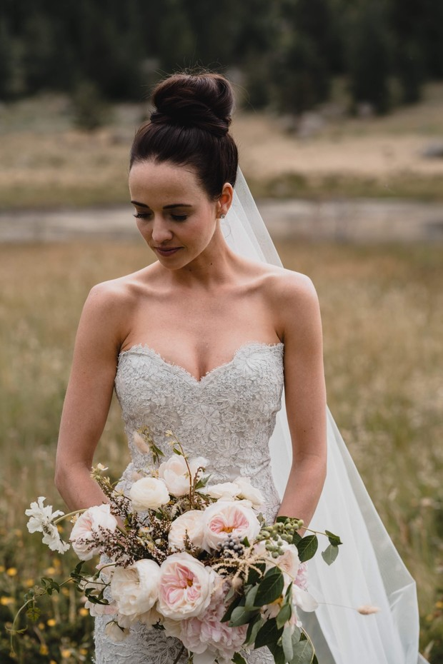 elegant and chic bridal styly