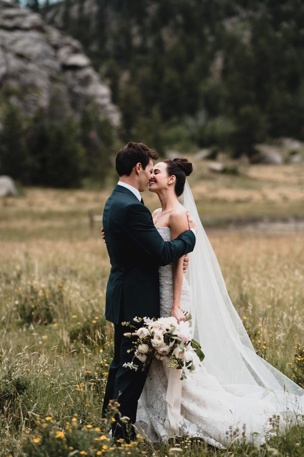 A Mountain Ranch Chic Wedding Day Filled With Butterflies