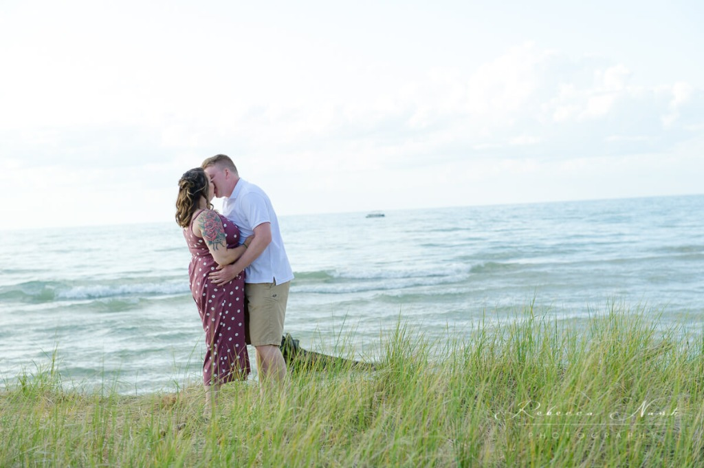 Catherine & Jacob spent an evening at the beach in Port Franks, Ontario to celebrate their engagement. I can't wait for their wedding