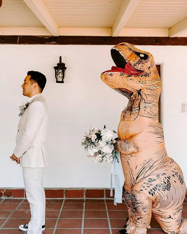 So Millennials Dig Dino Weddings and We Kind of Do Too