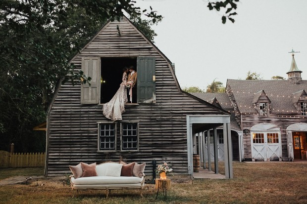 rustic hunting lodge wedding inspiration