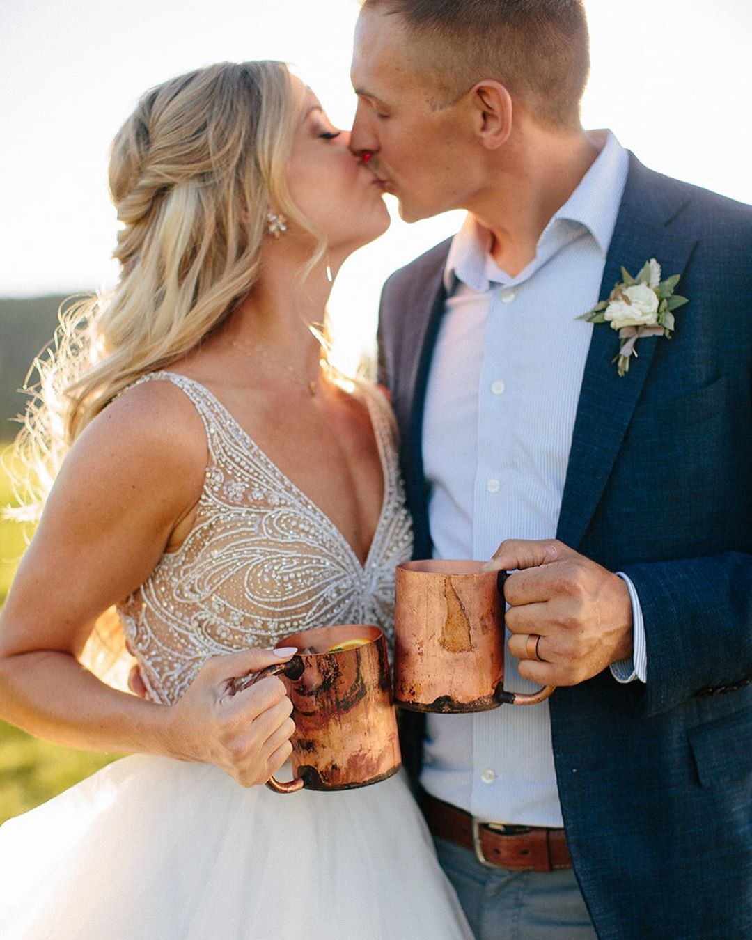 We love being a part of the best moments of your life. Thanks for sharing this awesome photo with us Brooke and Brenton! Congratulations