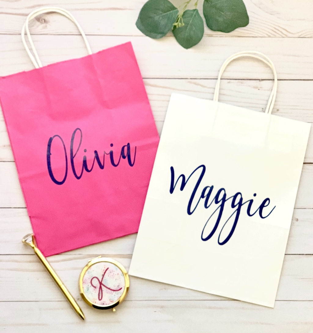 Personalized gift bags make for the perfect addition to any gift.