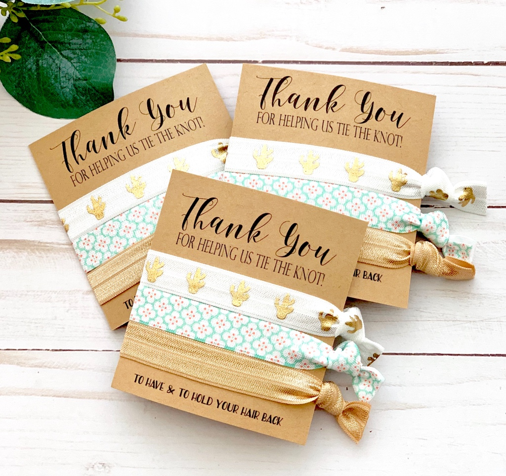 These adorable Bridesmaids Gifts are the perfect addition to your thank you gift bags, and a great way to say thank you to all of those