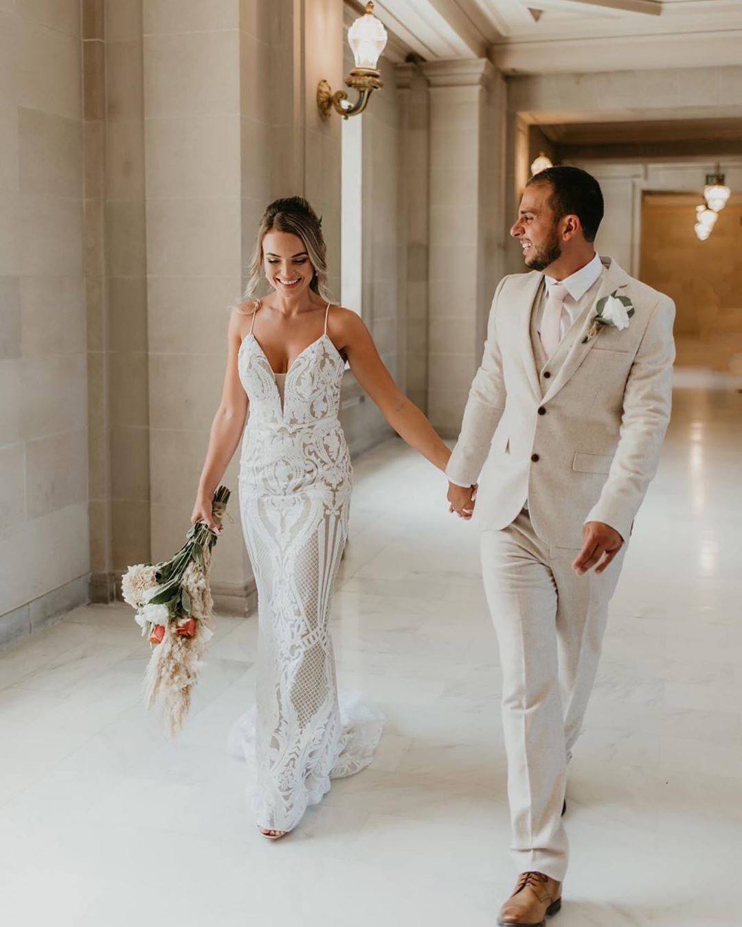 Gorgeous #bride 👰🏼 Hemilly in our Delilah Gown �