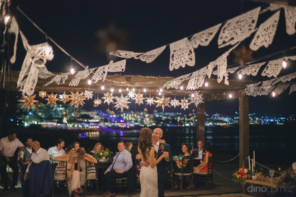 Dancing under the stars #cabowedding #beachwedding