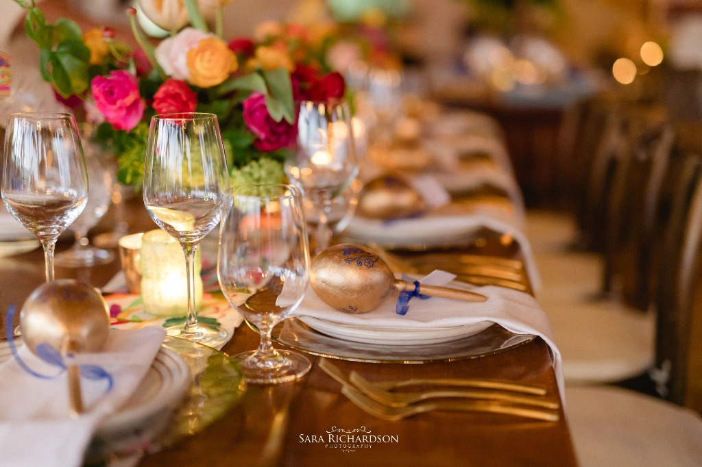 Mexican accents for an Hacienda Style Wedding