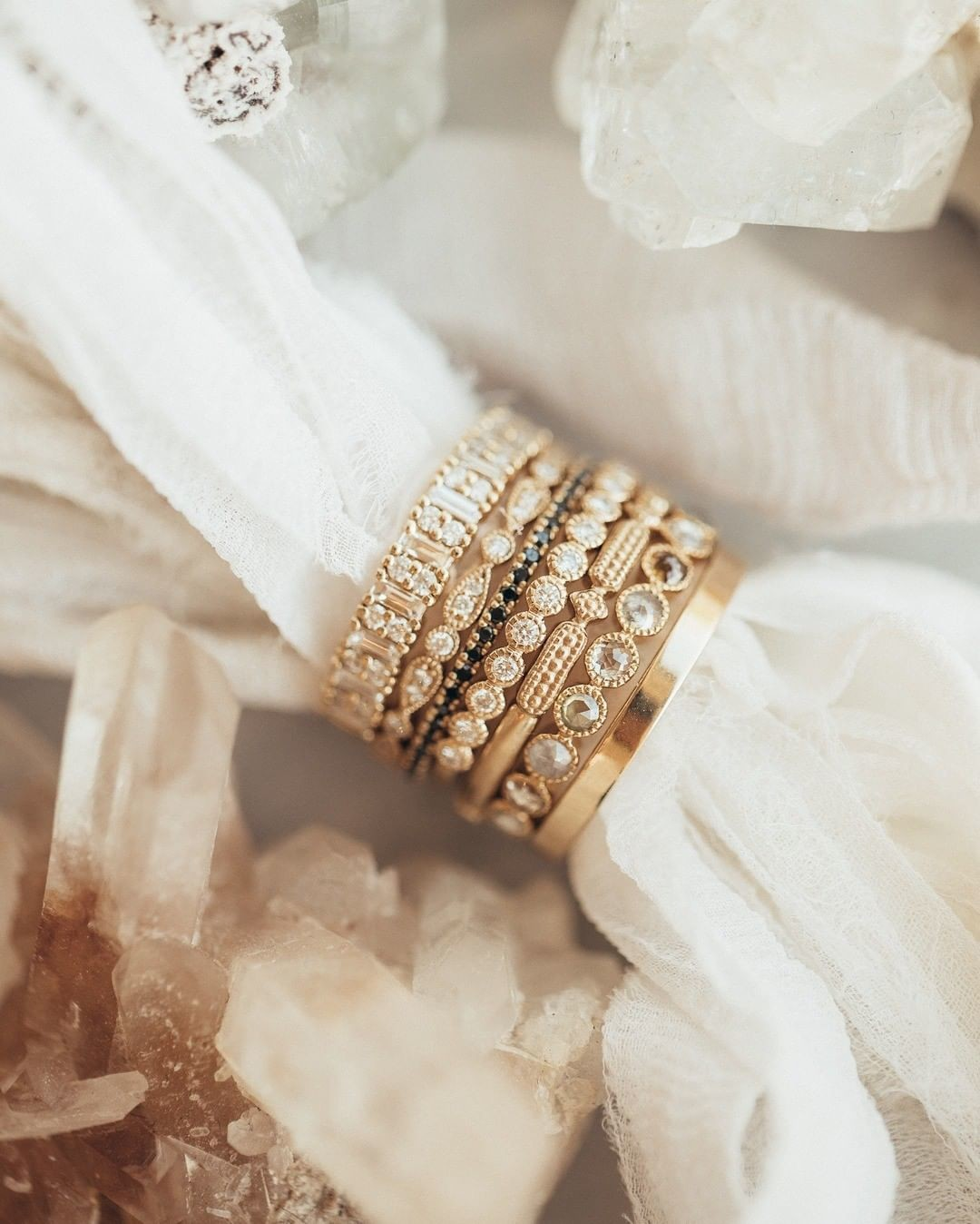 Snag the stack of your dreams at #sarahojewelry.