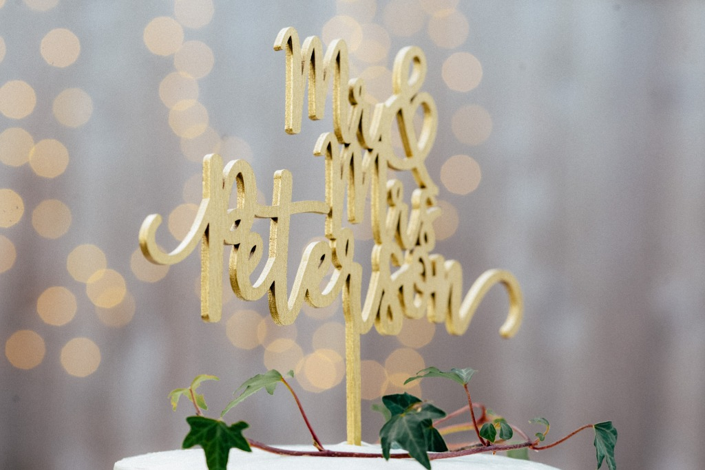 Wedding Cake Toppers are a vital part of your wedding decor. Choose one that matches your wedding color palette, and personalize any