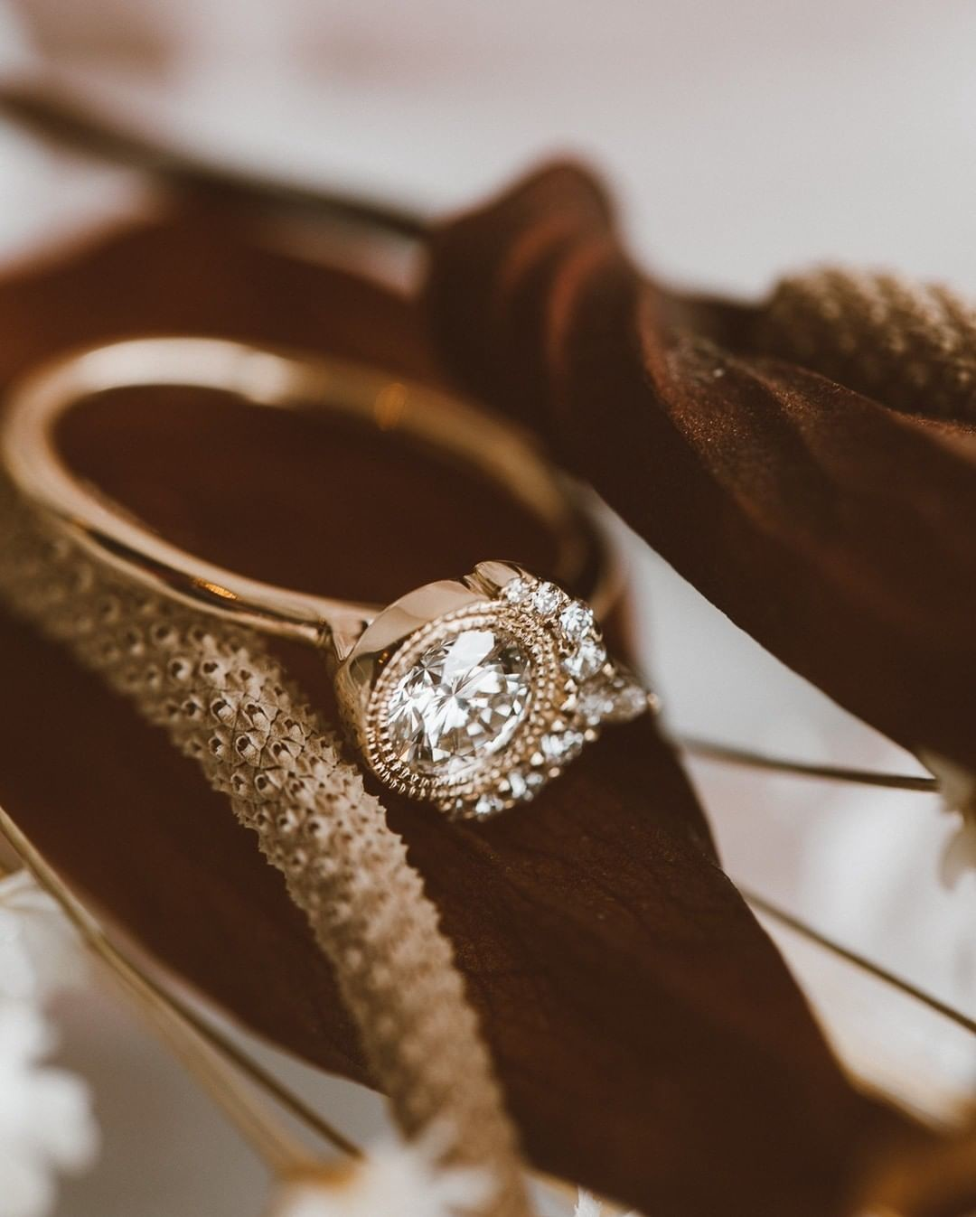 We are loving this angle of Jennifer's ring that we redesigned with