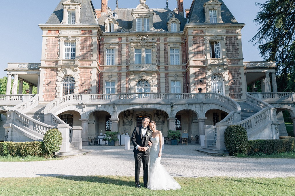 Chateau weddings in France