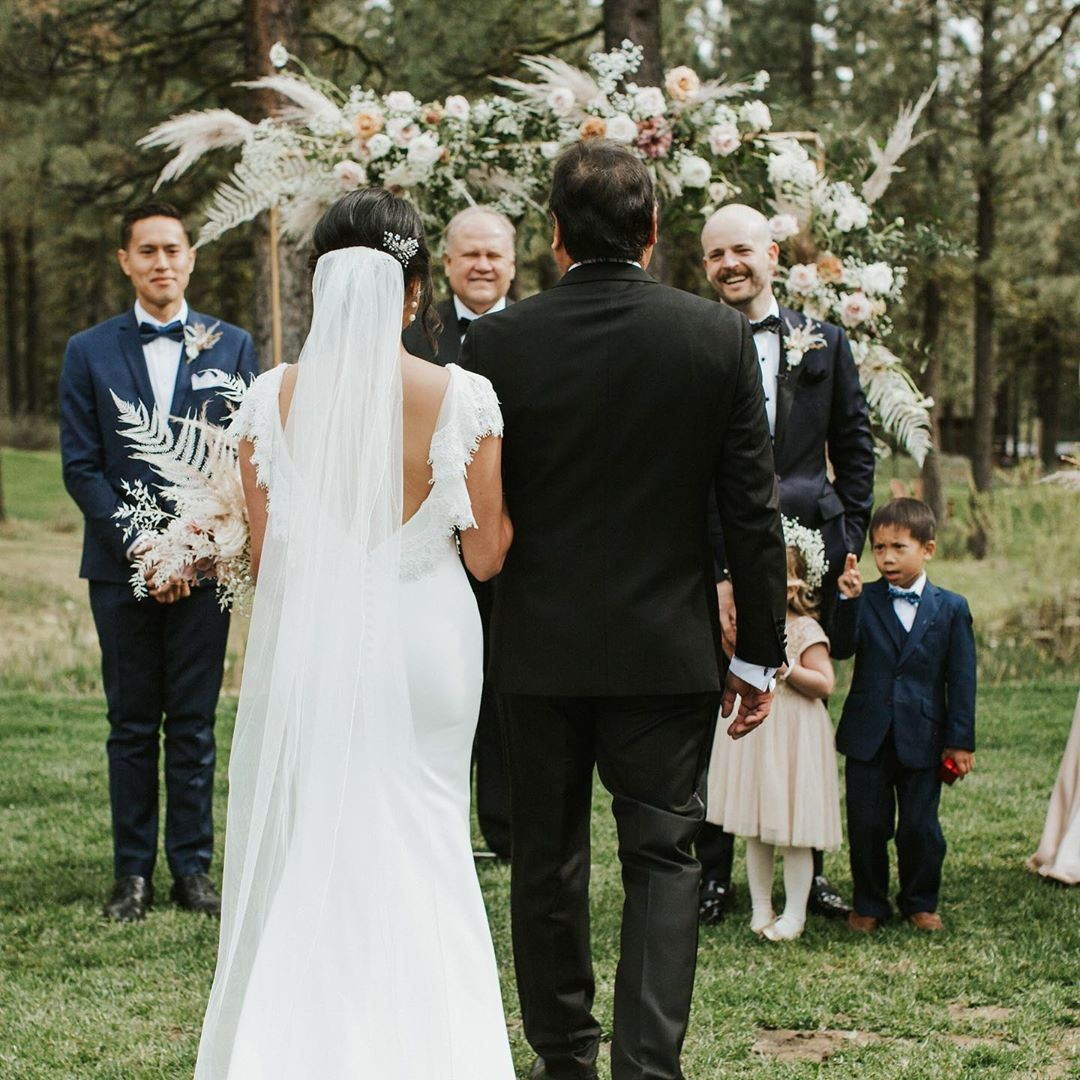 We believe the best walk you will ever take is walking down the aisle. ・・・