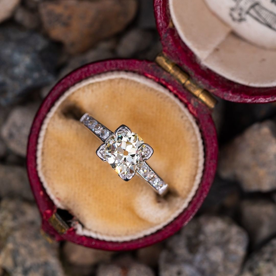 Tell us what you love most about old mine cut diamonds