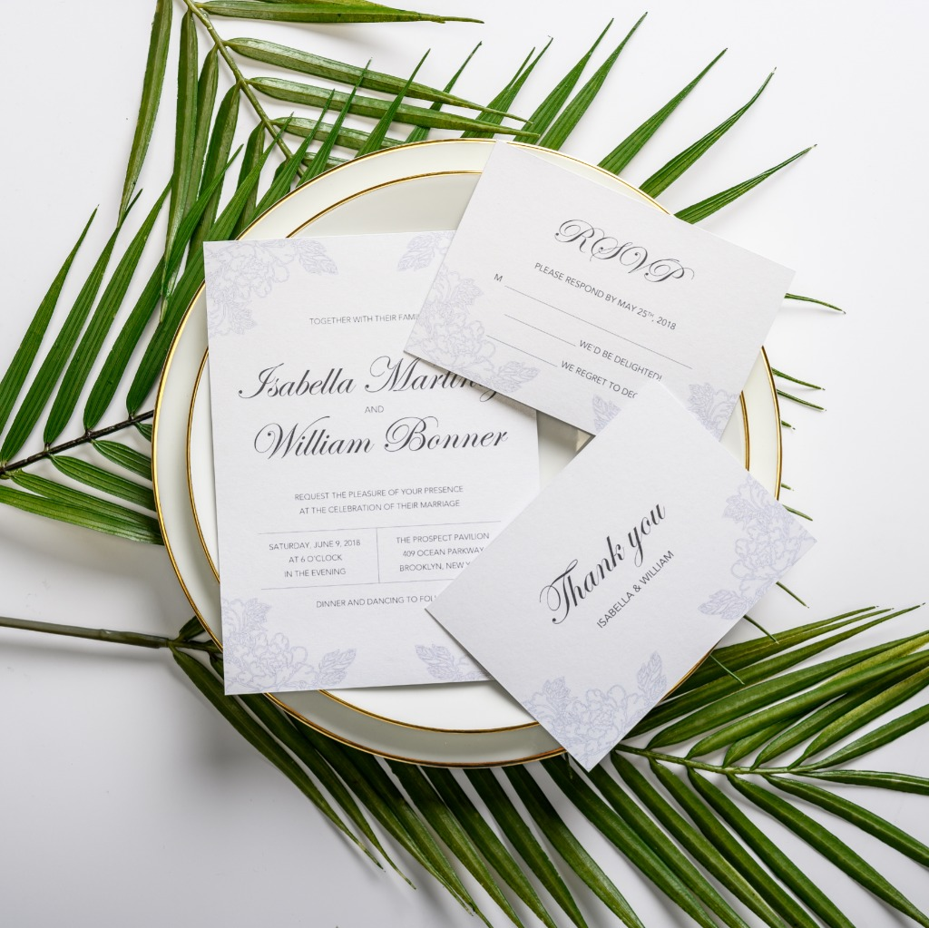 Freedom you can get! Simple, modern but elegant invitation for stylish girls! Destination, country or backyard weddings! Your guests