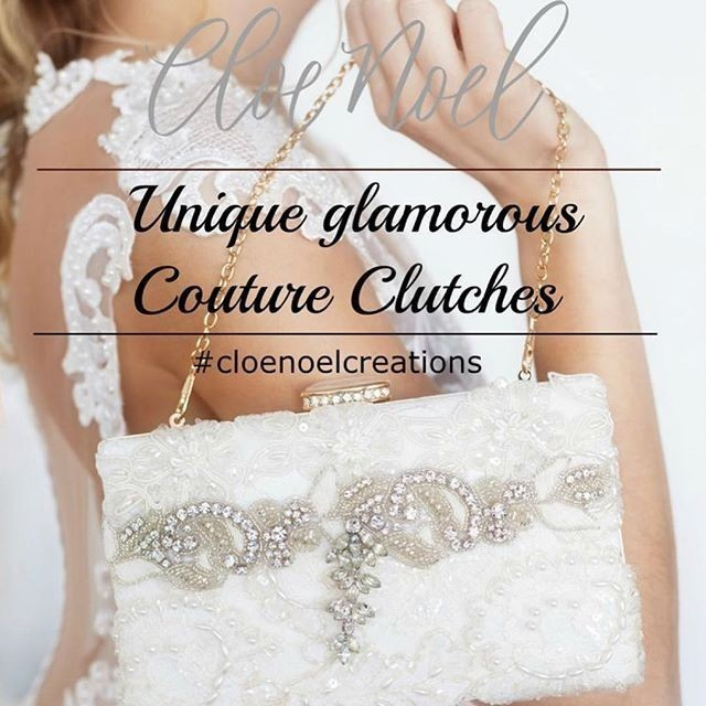 Find your dream clutch designed from gorgeous vintage jewels. The perfect keepsake. 