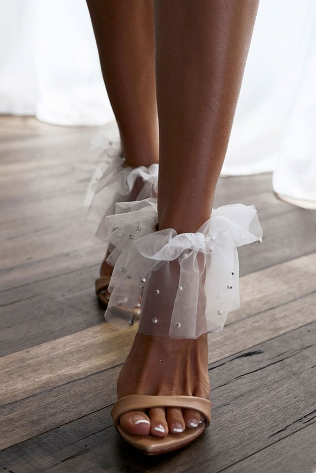 Anklets Are the Sassy New Bridal Accessory We Never Knew We Needed