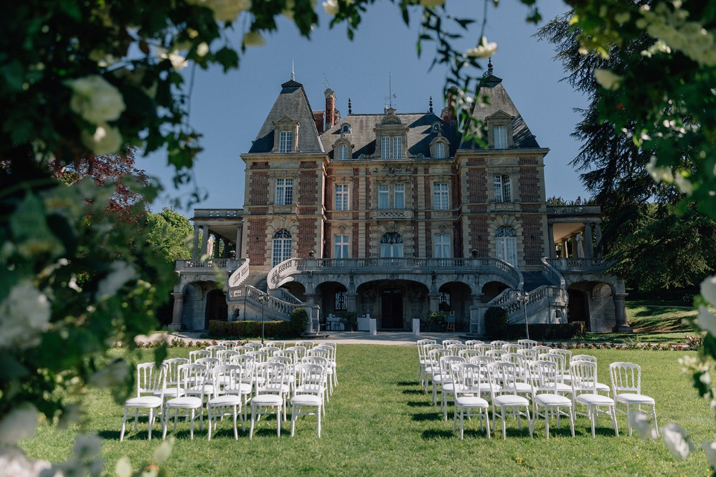 Chateau weddings in France - luxury intimate celebrations