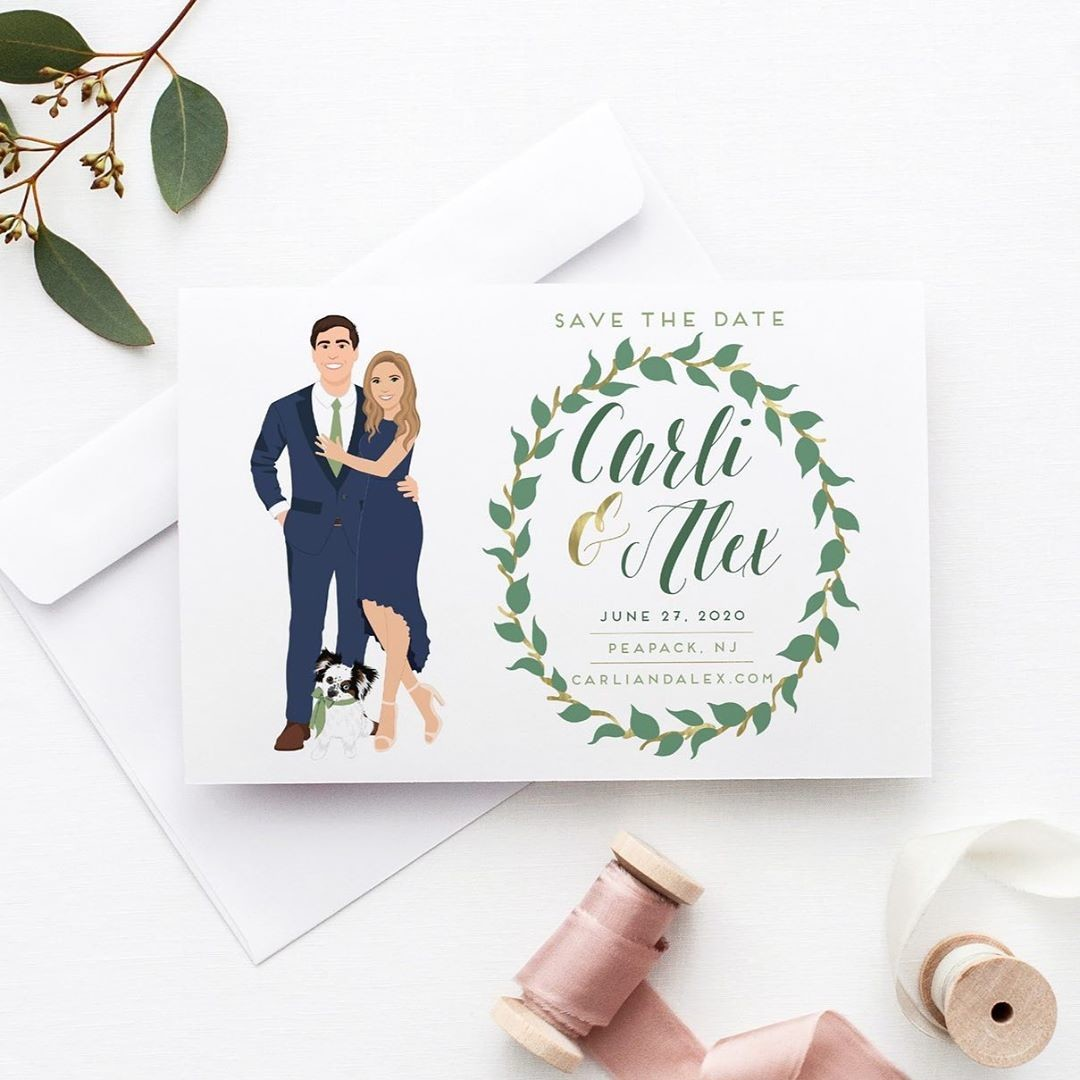 Tell your guests to lock in that wedding date by sending out your fabulous Save the Dates ASAP! Lucky for you, we offer rush options