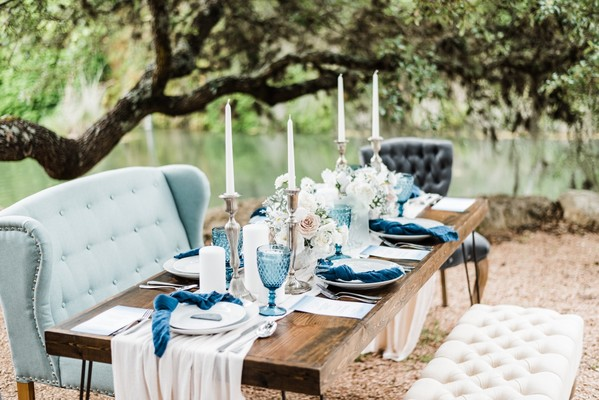 Romantic and Organic Sea Glass Wedding Inspiration