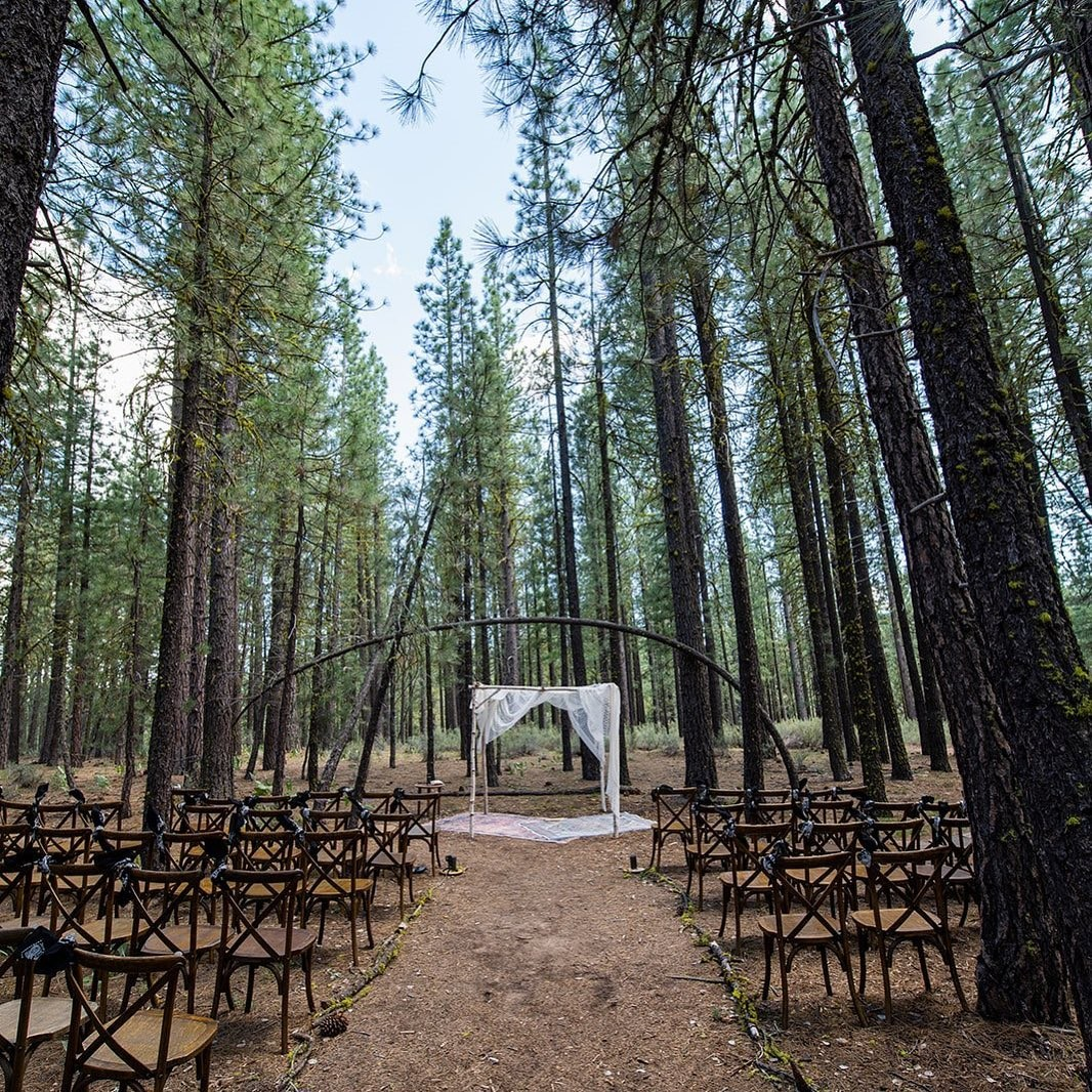 """""""Imagine a gathering where the pine trees are your witness. Where the awe-inspiring setting provides a new perspective— and heightened"""