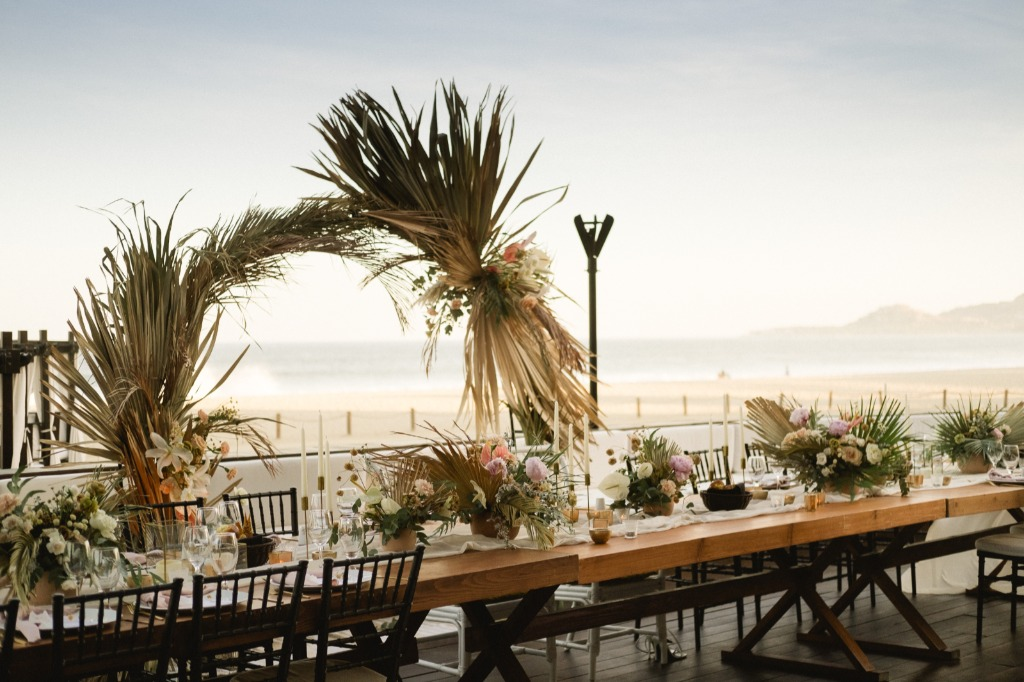 Bohemian and boho style for a Cabo wedding
