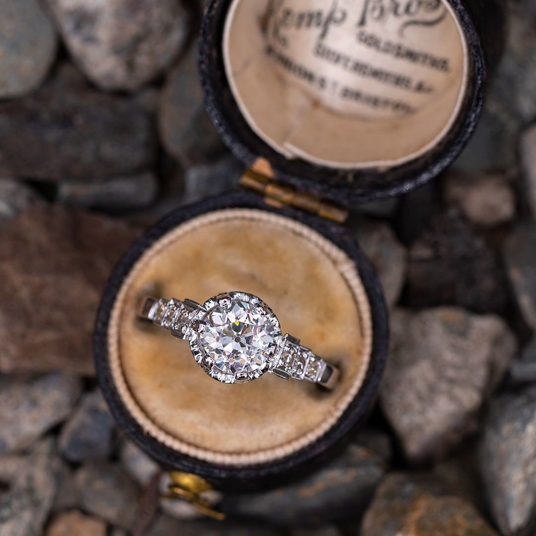New Arrival: Vintage Buttercup Engagement Ring