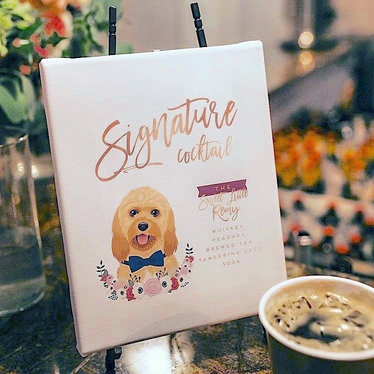 This sweet photo of @adventureswithremy's custom cocktail