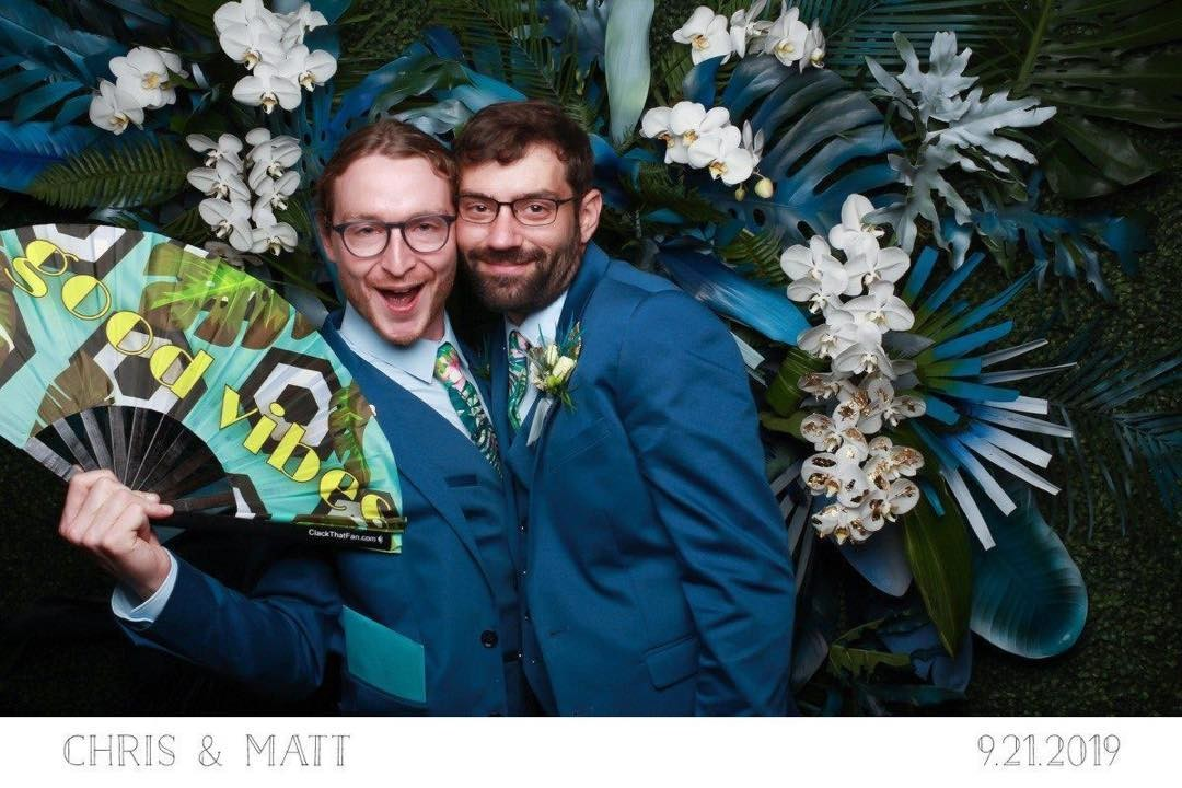 The grooms! #chrisandmatt